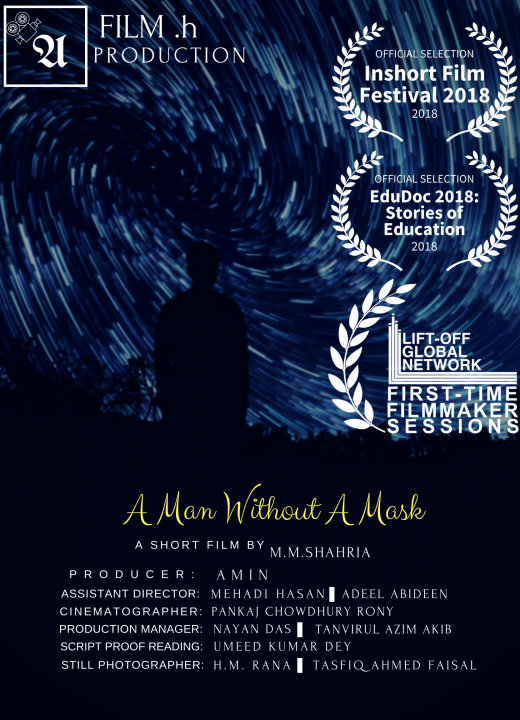 A man without mask
